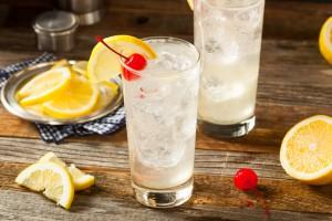 klassischer Tom Collins Cocktail