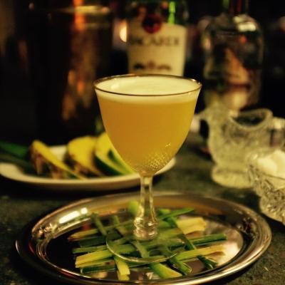 Der Cocktail El Rey ohne Garnitur