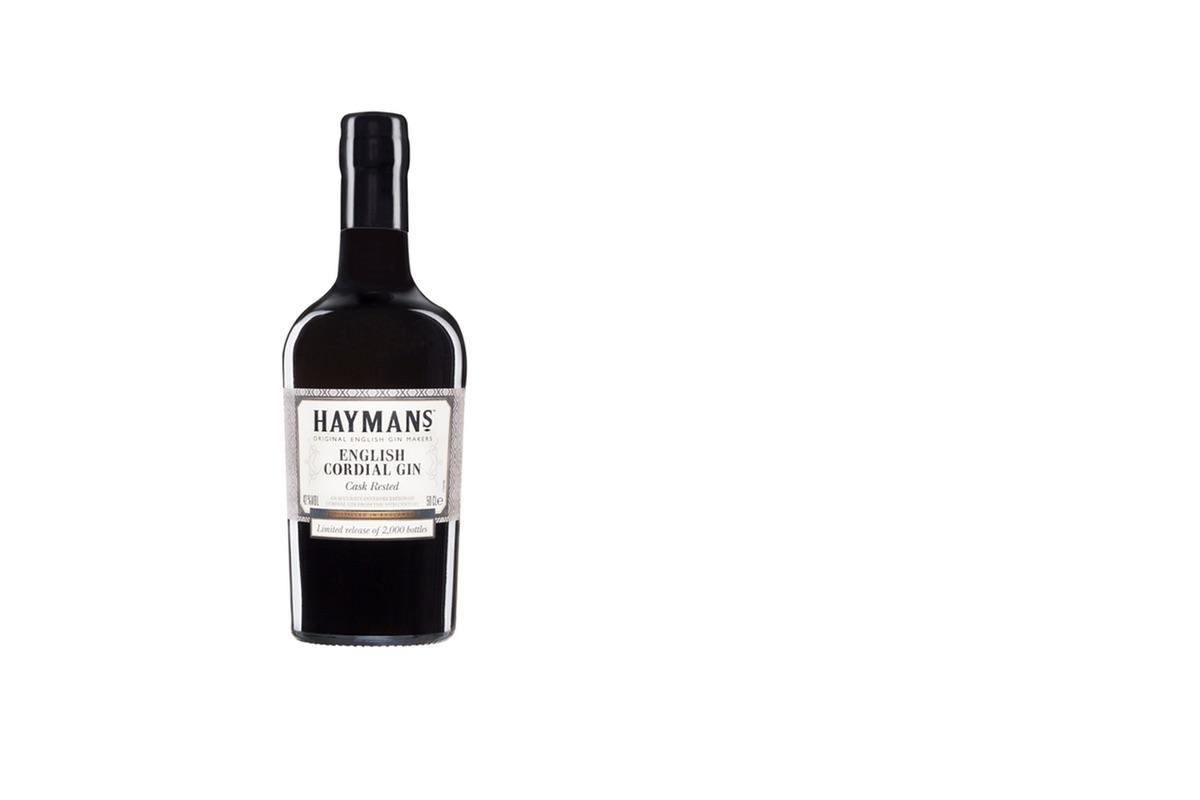 Flasche des Haymans English Gordial Gin