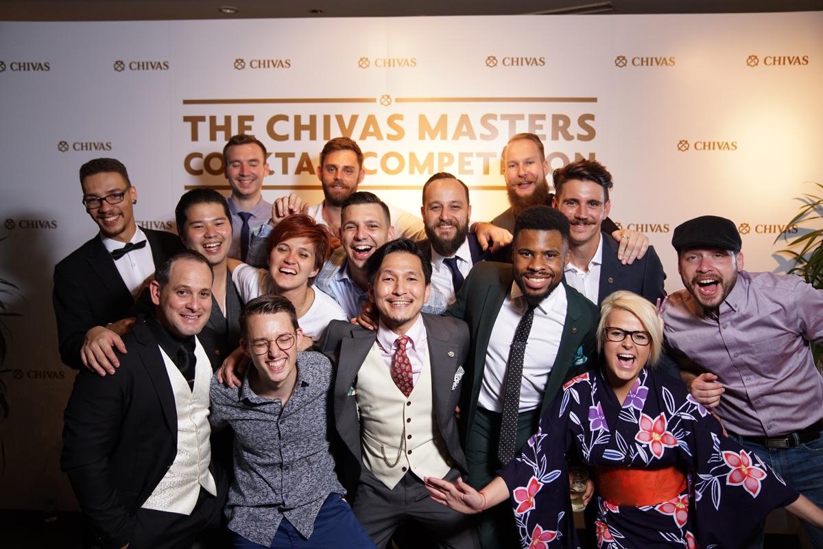 Gruppenbild The Chivas Masters