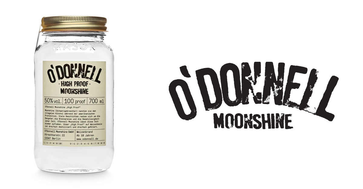 Flasche O'Donnel Moonshine