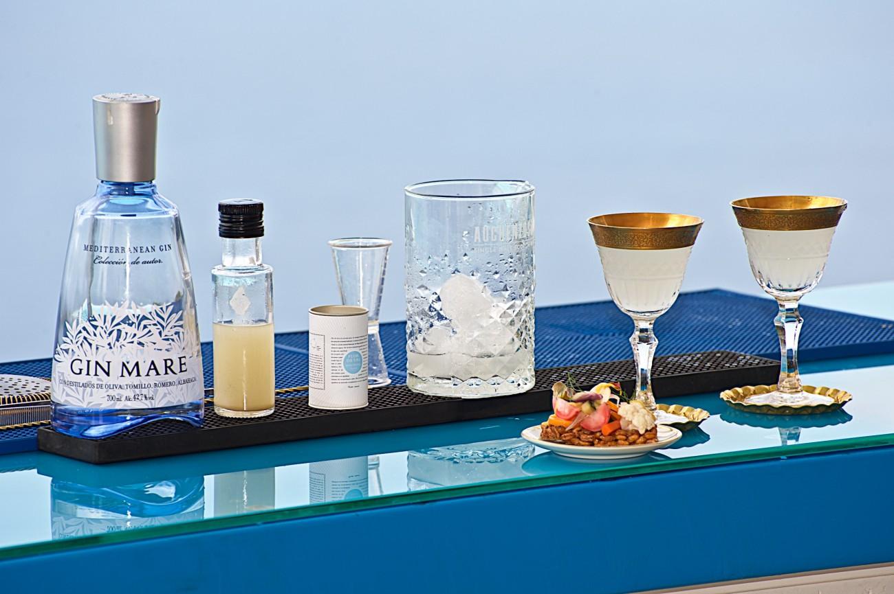 Präsentation des Gin Mare