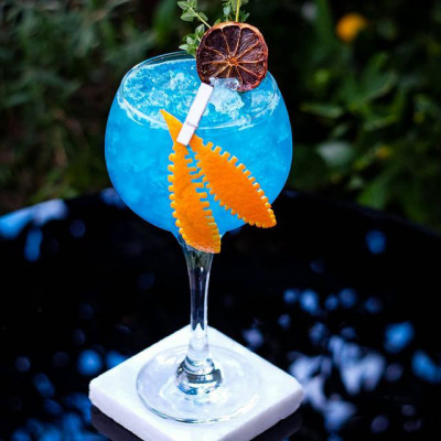 blauer Cocktail