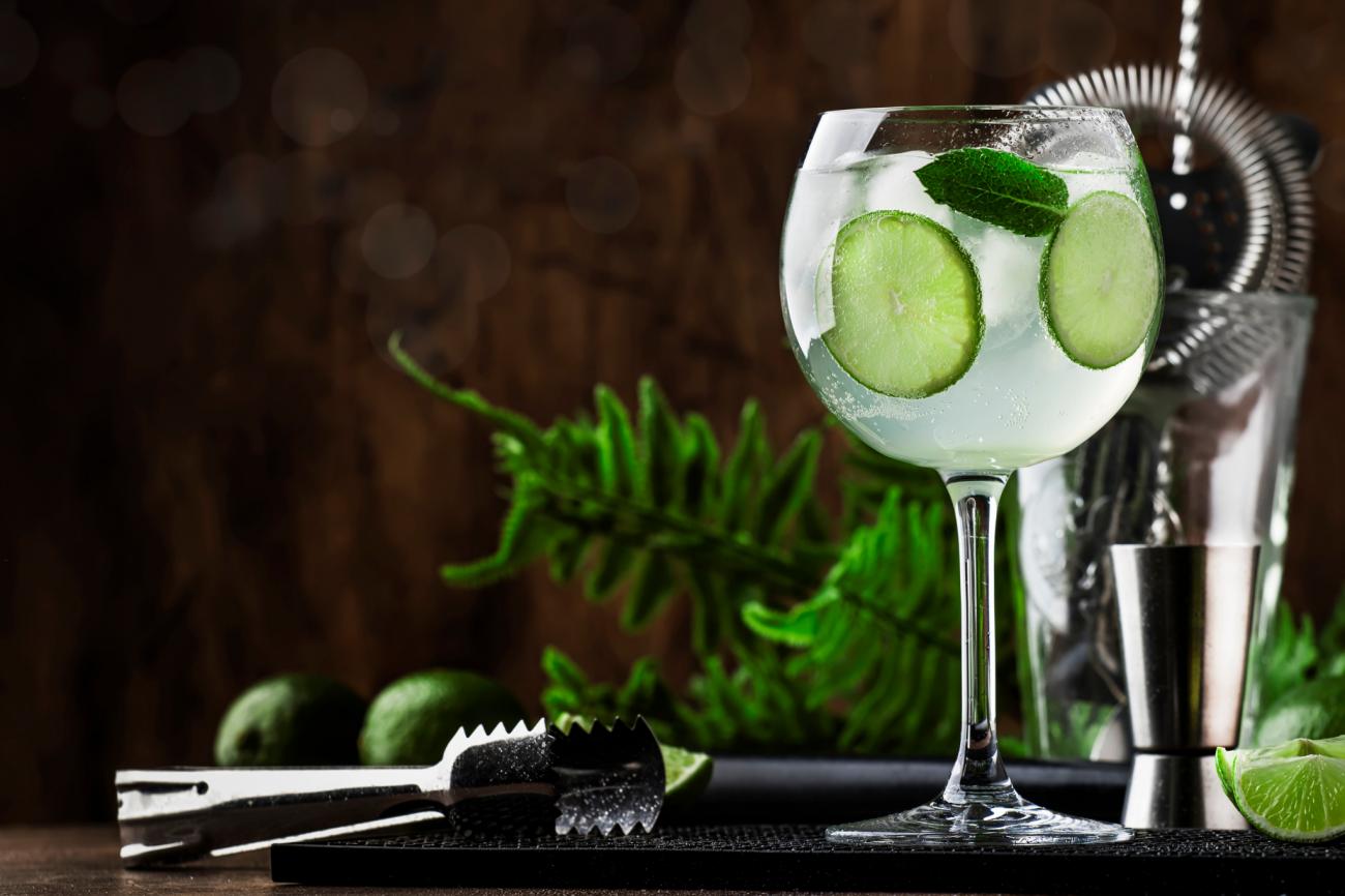 Cocktails mit Gin