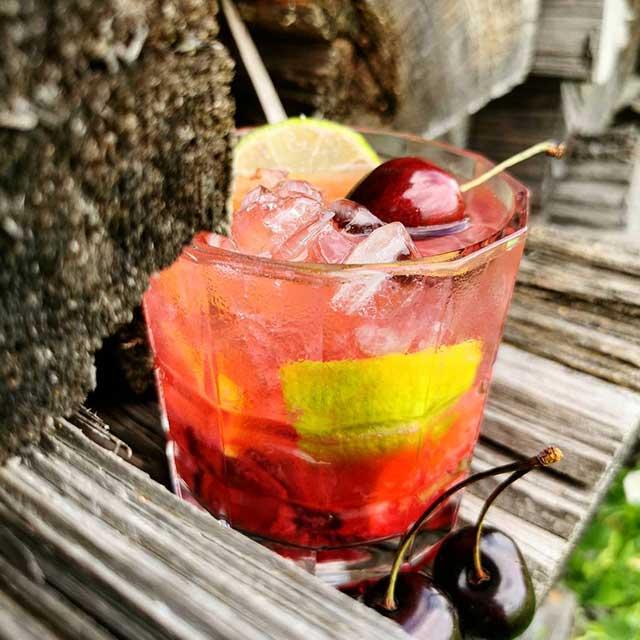 The Cherry Caipirinha
